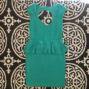 Poof Couture Peplum Dress
